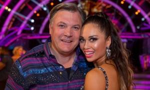 Will his waltz be a winner? Ed Balls with Katya Jones.