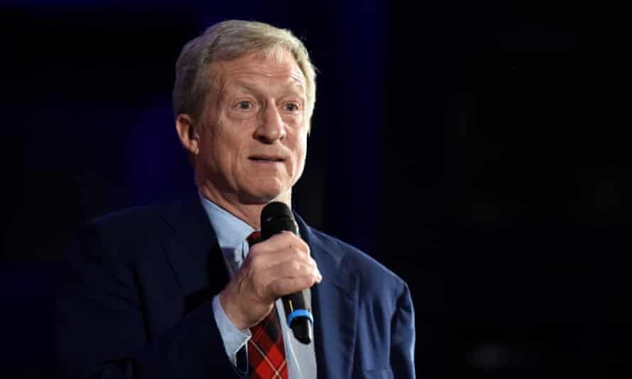 Tom Steyer did not win any delegates in Iowa, New Hampshire or Nevada.