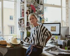 Lucinda Chambers, fashion director.