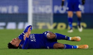 A scan showed that James Justin suffered an anterior cruciate ligament injury against Brighton and will be out for the season.