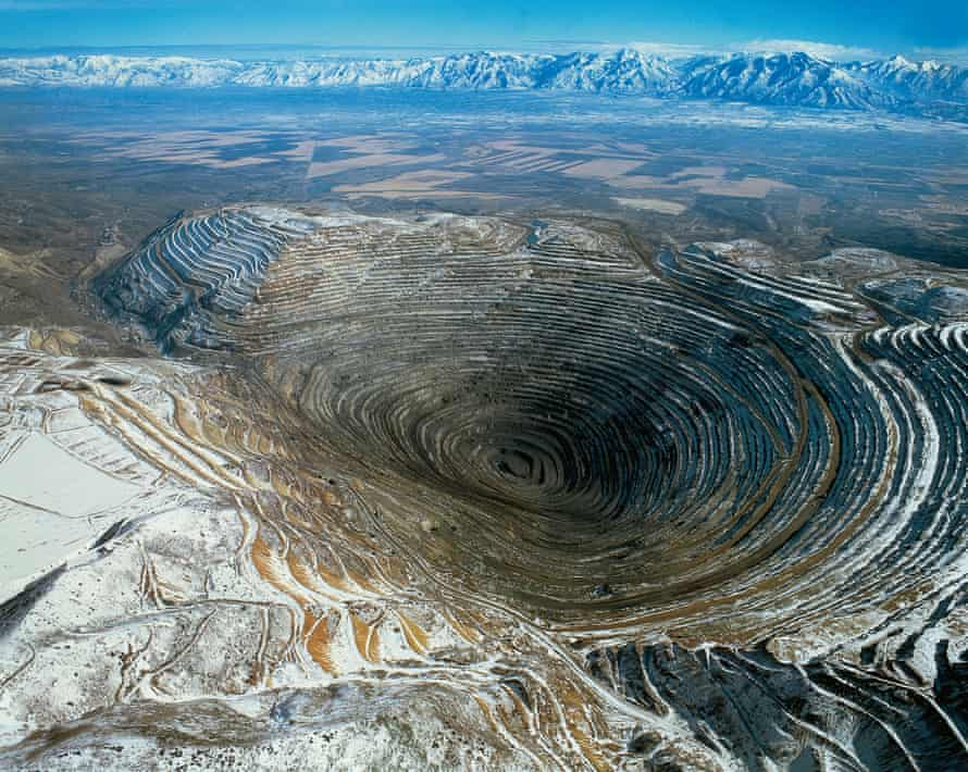 Bingham Canyon Mine, Utah, US.