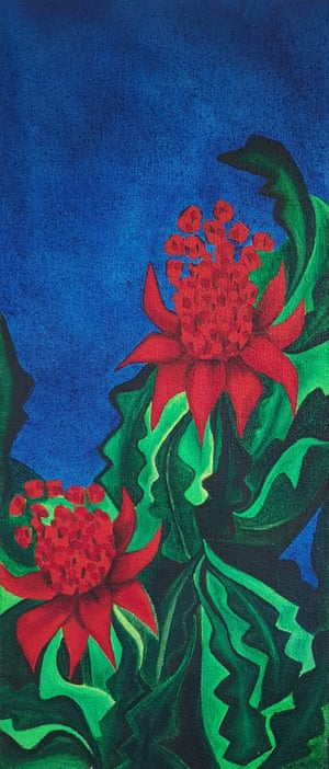 Two Waratahs by Linda Jackson (1991)