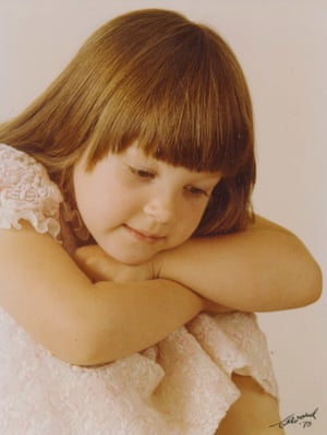 Annie, who was abused for many years as a child from 1979 onwards by a priest. This photo is thought to have been taken in 1978 when the victim was five