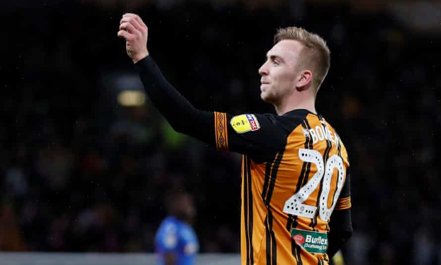 Jarrod Bowen has been in irresistible goalscoring form for the resurgent Tigers.
