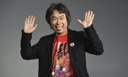 Nintendo's Shigeru Miyamoto.
