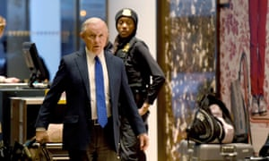 """Senator Jeff Sessions of Alabama arrives at Trump Tower for meetings with President-elect Donald Trump works from home November 15, 2016. Making the vital choices for President-elect Donald Trump's White House cabinet has sparked intense infighting, CNN reported Monday, with one source calling it a """"knife fight."""" The jobs to be filled include national security positions and West Wing posts, the television news network said, as Trump gathered with transition team members in New York. / AFP PHOTO / TIMOTHY A. CLARYTIMOTHY A. CLARY/AFP/Getty Images"""