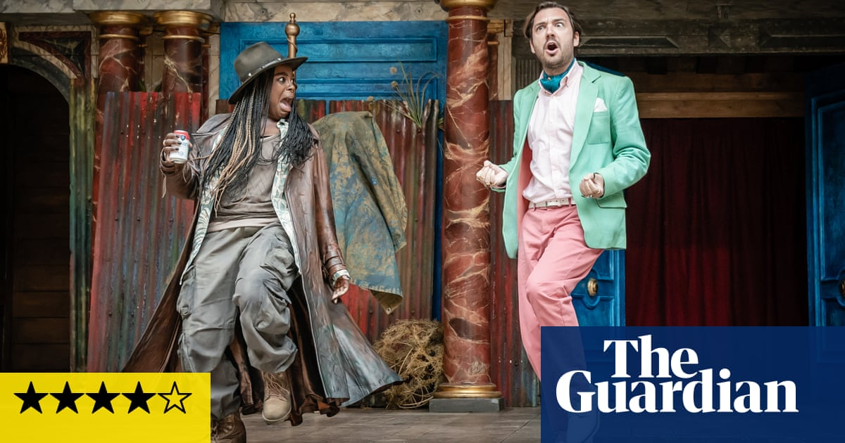 Twelfth Night review – impeccable staging of Shakespeare's merriest romp