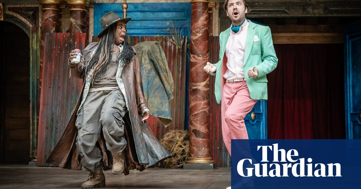 'The laughs hit me in the heart': a view from the stage at Shakespeare's Globe