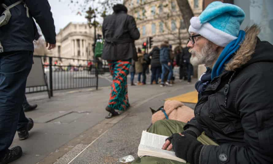 Paul, 49, says he is homeless because he failed to understand how to sign up for universal credit.