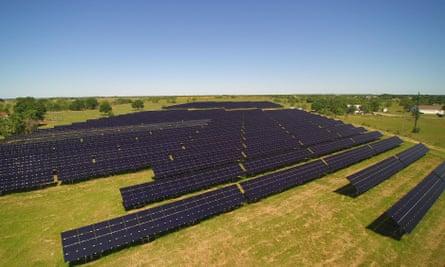 Local Sun, near Houston, has around 100 customers.