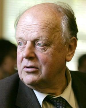 Stanislav Shushkevich in 2006.