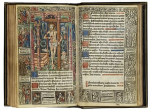 Medieval book of hours from William O'Brien's library.