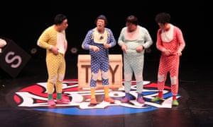 Festive family entertainment … Ongals.