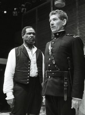 1989 As Iago, with Willard White in the title role, in Trevor Nunn's Royal Shakespeare Company production of Othello at the Young Vic, London