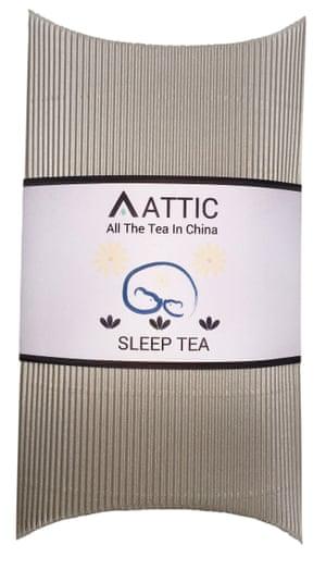 Attic Sleep Tea: drink at bedtime.