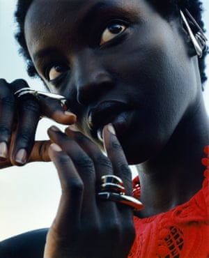 Sharpen your look Ear-hooks and sculptural double rings – the angular edges of the new McQueen jewellery collection take inspiration from the punk heritage the house is known for. Ear-hook set £290, ring £320, alexandermcqueen.com