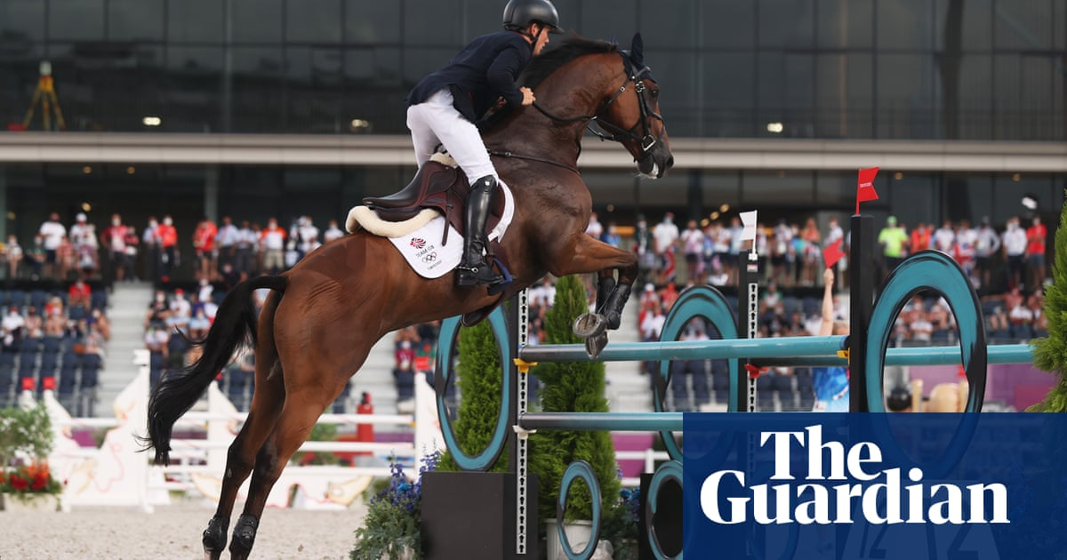 Team GB strike gold in Olympic team eventing