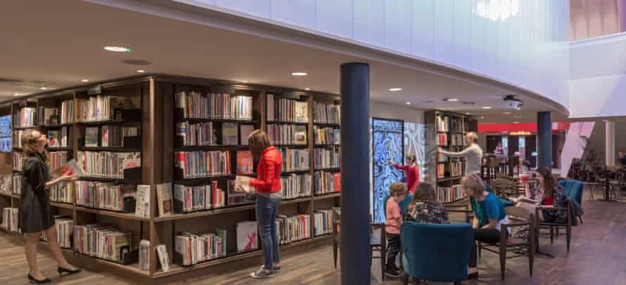 The Storyhouse cultural centre has flexible seating, audio loops and accessible backstage changing rooms.