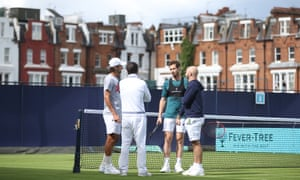 Feliciano López trained with Andy Murray this week in preparation for their doubles match at Queens.