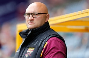 Paul Anderson during his time as Huddersfield Giants head coach.