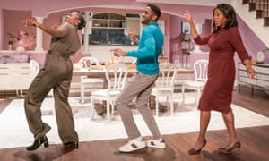 Confrontational … Jackie Sibblies Drury's Fairview at the Young Vic.