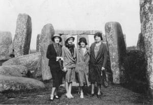 Stonehenge in 1932 by Richard Bridgland.