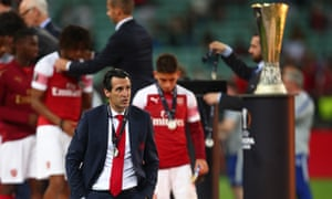 Unai Emery, final de la Europa League