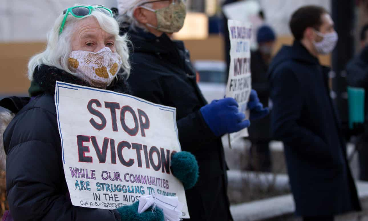 Avalance of evictions coming in US