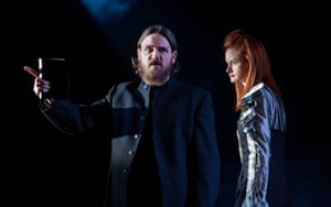 Jamie Sives as John Knox and Rona Morison as Mary Queen of Scots.