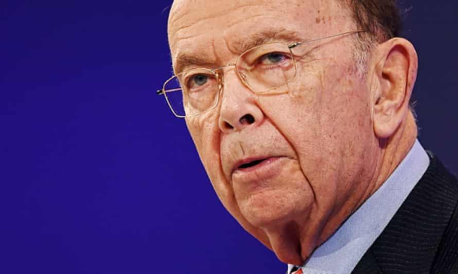 The US secretary of commerce, Wilbur Ross