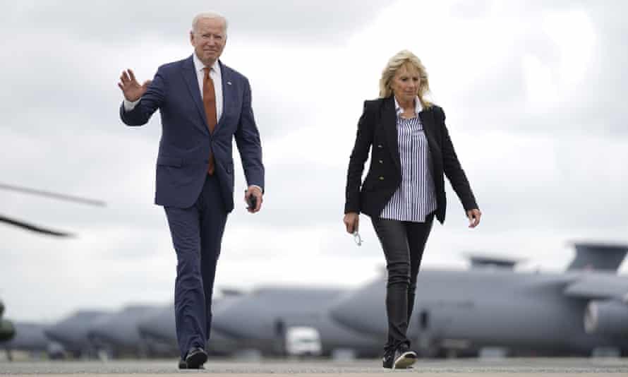 President Joe Biden and first lady Jill Biden
