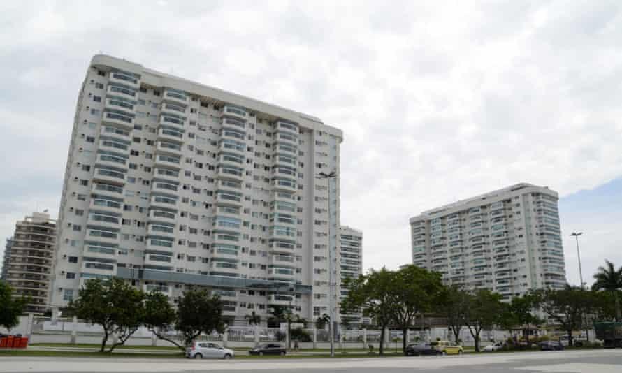 Luxury apartments overlooking the Rio Olympic Arena in Barra da Tijuca.