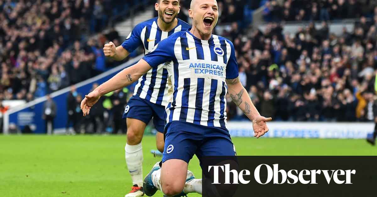Brighton's Aaron Mooy produces cracker to finish off Bournemouth
