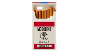 wholesale dealer af523 6e826 Moschino's cigarette iPhone case: silly but totally on brand ...