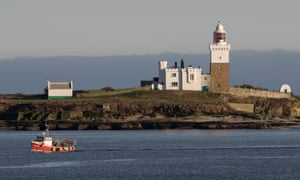 The island's lighthouse