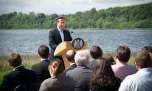 David Cameron answers questions from the media at the Lough Erne G8 summit in 2013