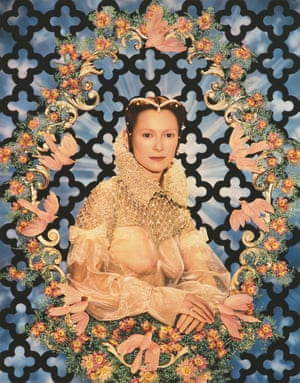 Portrait de Lady Swinton (Portrait of Lady Swinton) (1996) Model: Tilda Swinton Sanziany collection, Vienna