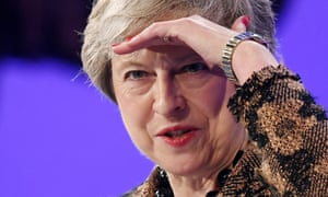 Theresa May delivers speech at CBI conference on Monday 19 November