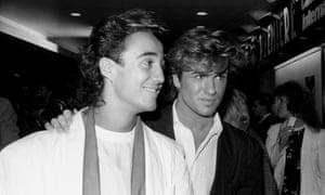 Andrew Ridgeley and George Michael.
