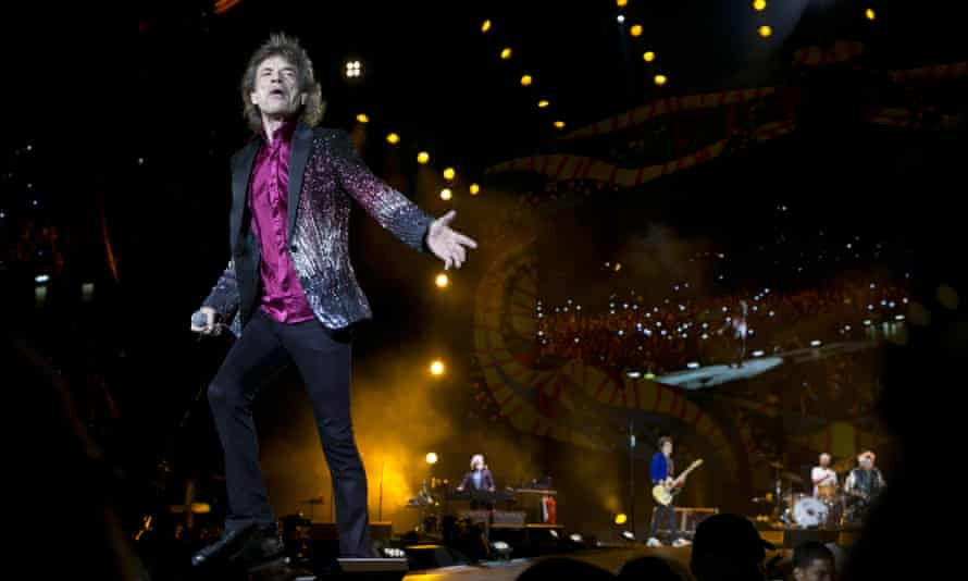 Rolling Stones … Probably not anticipating a repeat of Altamont for this one.