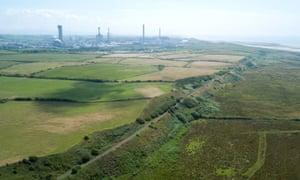 NuGen's proposed site near Sellafield, west Cumbria.