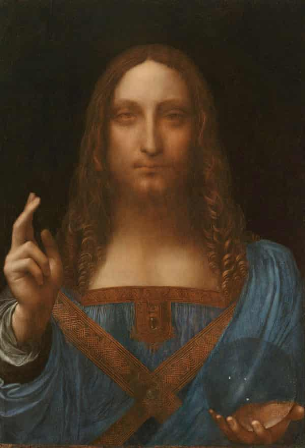 The Salvator Mundi was painted in approximately 1500.