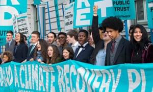 victoria barrett at demonstration