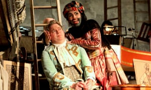 Immediacy... Robert Murray as Tom and Victoria Simmonds as Baba the Turk.