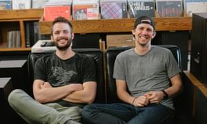 Tyler Barstow and Matt Fiedler of Vinyl Me Please subscription business