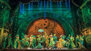 The 2013-14 London company of Wicked.