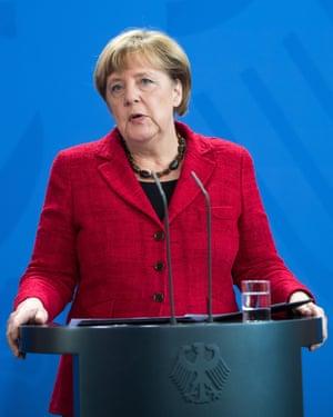 German chancellor Angela Merkel wants the major internet companies to divulge their secrets.