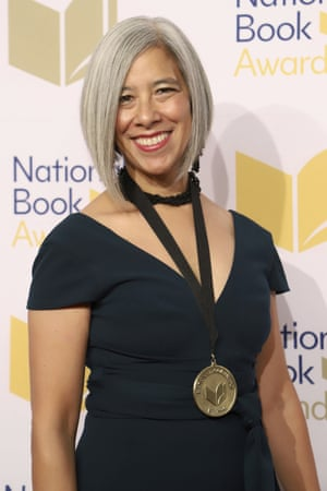Susan Choi won the best fiction prize at the 70th National Book Awards ceremony for her book Trust Exercise.