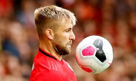 Manchester United's Luke Shaw