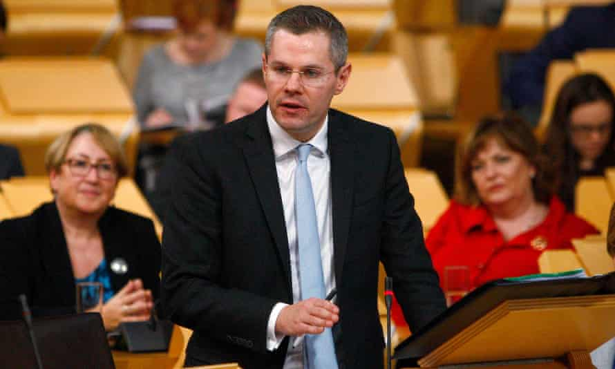 Scottish finance secretary Derek Mackay